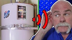 Are Water Heaters Supposed To Make Noise? | Plumbing Basics | The Expert Plumber