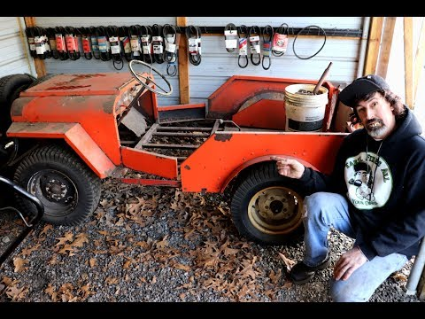 NEW* Taryl's Builds Roof Palomino Lawn Mower Jeep Pt 1