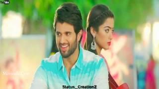 Unnil💞 Ennai💕Naanum Kandene Song|😍Geetha😳 Govinda Whatsapp💙Status|Geetha Govindam Lovely💕😍 Song🎶💕