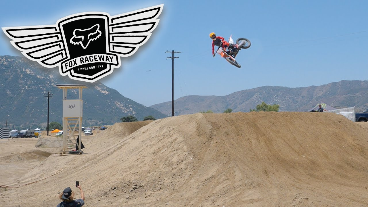 Throwing BIG WHIPS at Fox Raceway!!
