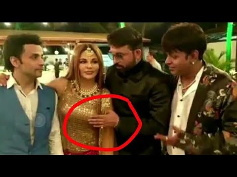 Kapil Sharma friend Chandan Prabhakar molesting Rakhi Sawant in Bharti's Marriage, Kapil fighting
