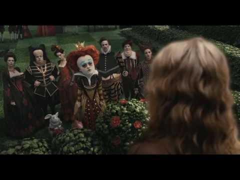 Встреча Алисы и Красной Королевы - Алиса в стране чудес