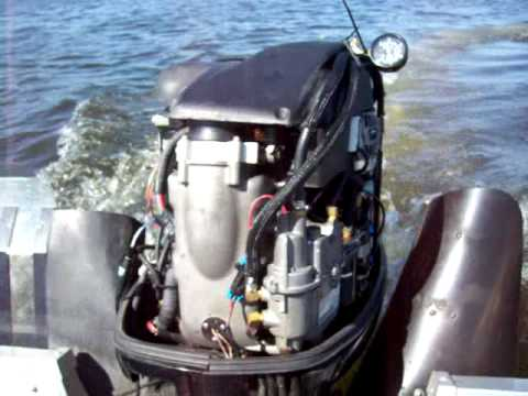 135 optimax bad low pressure fuel pump - YouTube