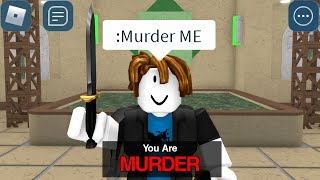 ROBLOX Murder Mystery 2 Funny Moments (ADMIN)