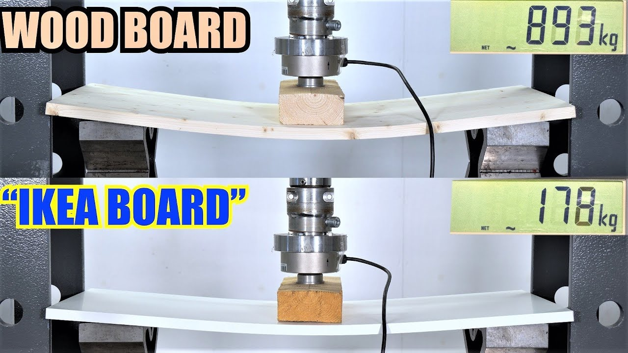 Ikea Board Vs Real Wood Which Is Stronger Hydraulic
