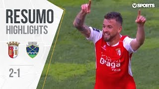 Highlights   Resumo: Braga 2-1 Chaves (Liga 18/19 #21)