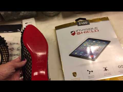 7f53cb9b5c9 Christian Louboutin Flats and sole protection with Invisible Shield ...