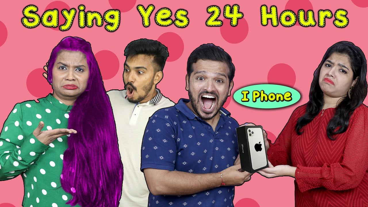 Saying Yes To Boys For 24 Hours Challenge | Hungry Birds