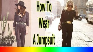 Cute Winter Outfits - 20 Style Tips On How To Wear A Jumpsuit This Winter
