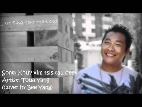 Khuv xim tsis tau deev - Toua Yang (cover by Bee Yang) thumbnail