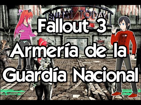 Fallout 3 Gameplay Español ☢️ Guia completa #44 Almacén de la Guardia Nacional
