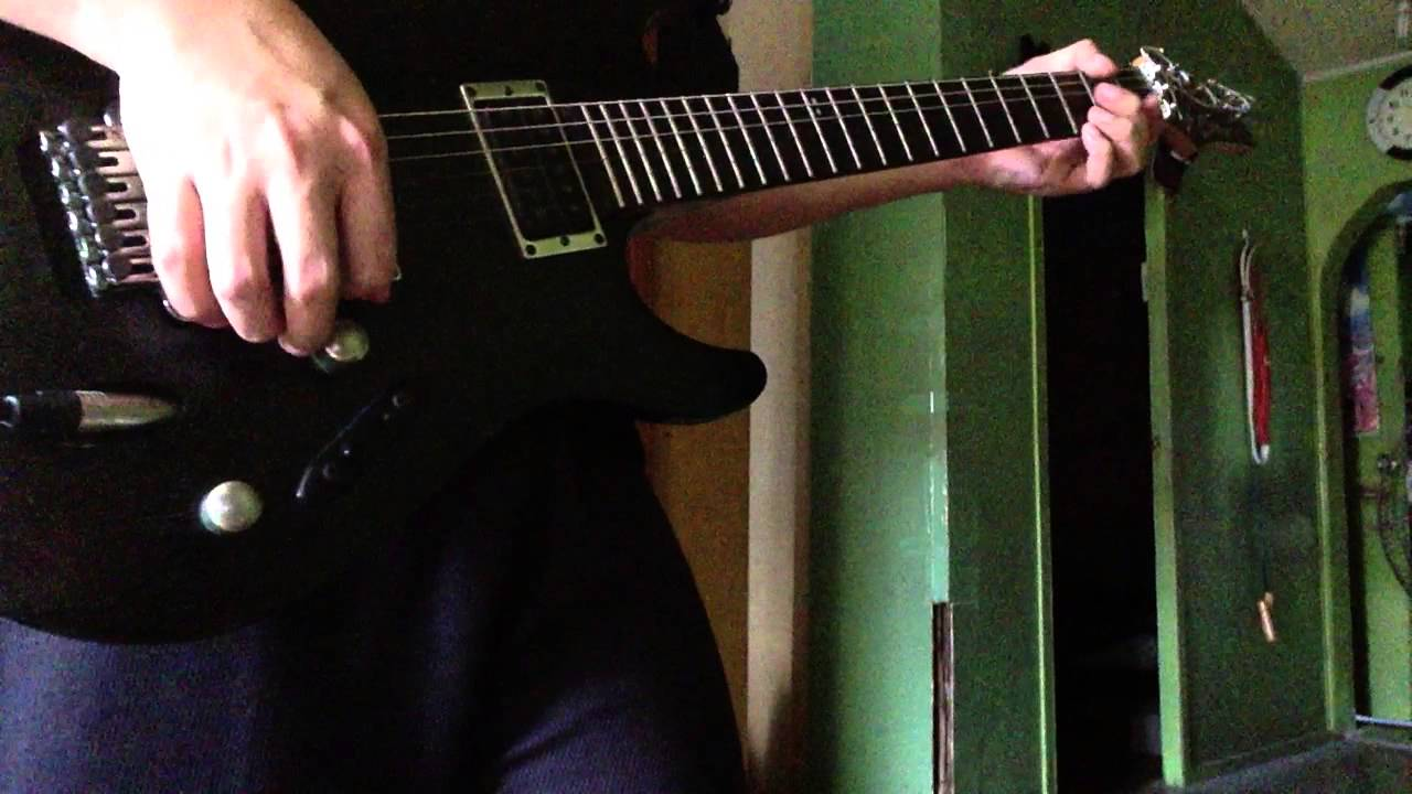California King Bed Electric Guitar Cover Youtube