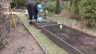 GARDEN 66 - Podwyższone grządki - Obornik i kompost dla pomidorów i ogórków