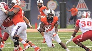 Illinois Football Extended Highlights vs. WKU 9/6/14
