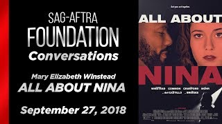 Conversations with Mary Elizabeth Winstead of ALL ABOUT NINA
