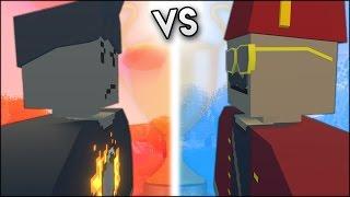 Melikebigboom vs MTN - (Unturned - Battle over The Throne)