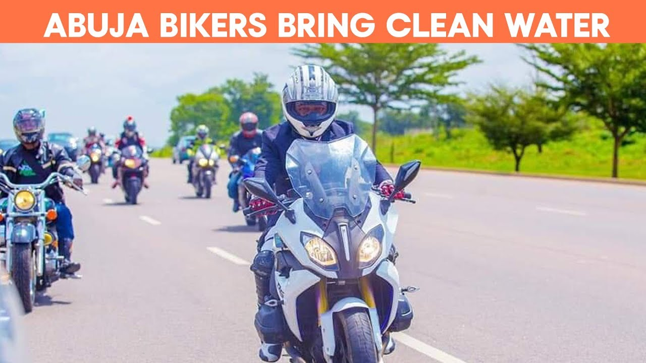 Abuja City Bikers give back to the community