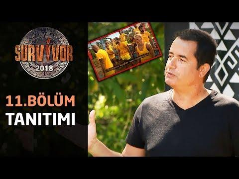 Survivor 2018 | 11.Bölüm Tanıtımı | Survivor 'da büyük sürpriz! Türkiye-Romanya karşı karşıya....