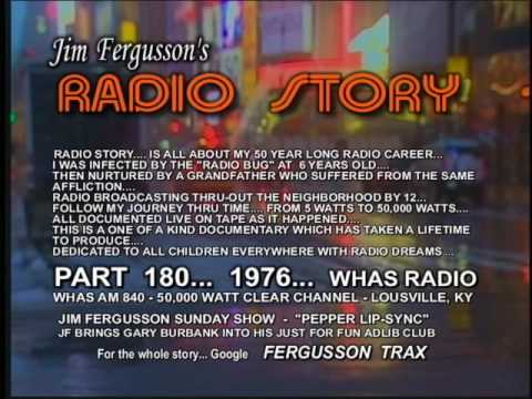 JIM FERGUSSON/WHAS vs. TERRY MEINERS - WHO IS FUNNIEST??? - COMEDY!!! - FERGUSSON/TRAX - RS 972NEW