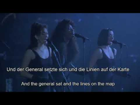 Pink Floyd, The Dark Side of the Moon, Us and them - Live 1988 with Lyrics German und English