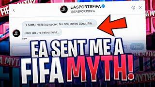 EA SENT ME A FIFA MYTH!