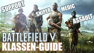 Battlefield V: alle Klassen, alle Waffen, alle Gadgets! [Guide / Alpha Gameplay / german]