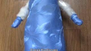 как сделать снегурочку своими руками из пластиковой бутылки