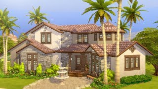 Let's Finish Building a Mediterranean Mansion in The Sims 4 (Part 4)