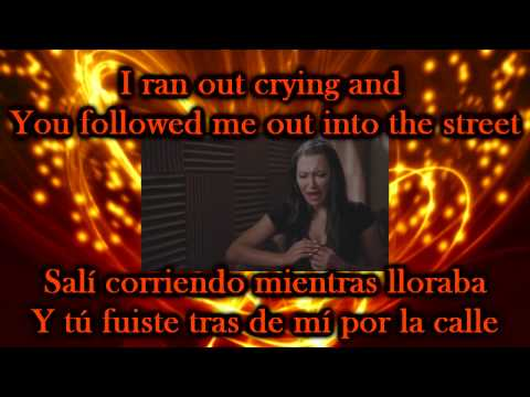 Glee - Mine / Sub spanish with lyrics