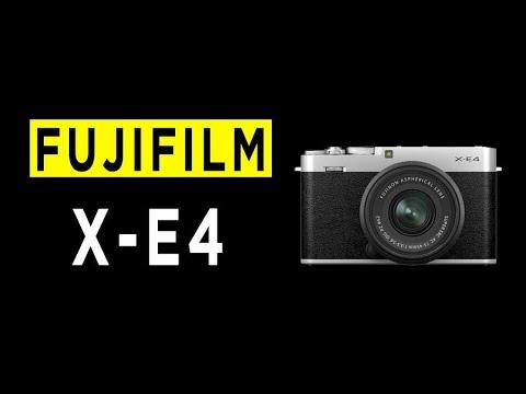 Fujifilm X-E4 Camera Highlights & Overview - 2021