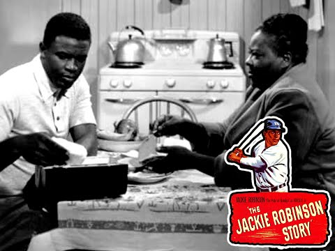 The Jackie Robinson Story - Full Movie | Jackie Robinson, Ruby Dee, Minor Watson, Louise Beavers