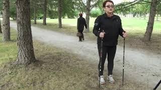 Техника Скандинавской ходьбы от Ирины Вдовиной