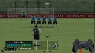 PES 2014 PS2 Free Kick Tutorial HD