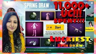 Spending 11,670 UC For Spring Draw Set - PUBG MOBILE
