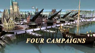 Double-pack: Port Royale 3 Gold & Patrician IV Gold - Trailer
