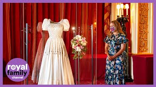 Princess Beatrice's Wedding Dress Goes on Display