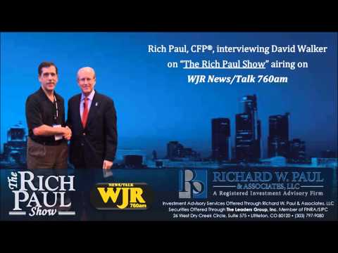 Rich Paul, CFP®, Interviewing David Walker on WJR News/Talk 760 - Detroit, MI
