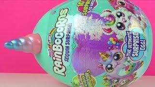 Rainbocorns dev sürpriz yumurtadan mis kokulu altın Flamingocorns arıyoruz oyuncak Boo boocorn