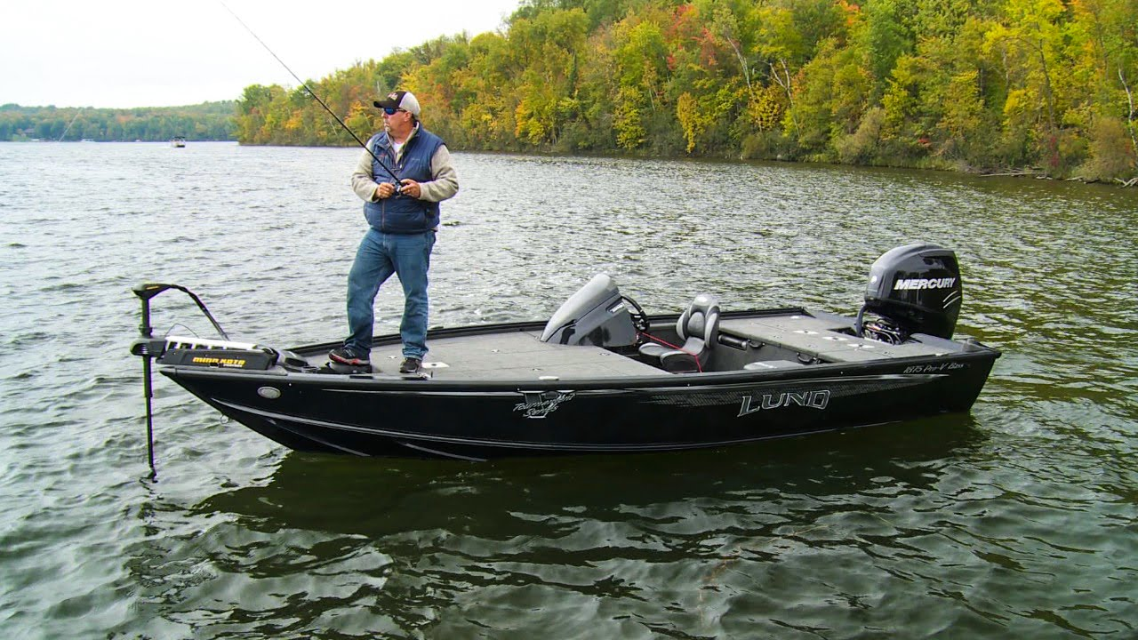 Lund boats adds new aluminum bass boats to their lineup for Bass pro fishing boats
