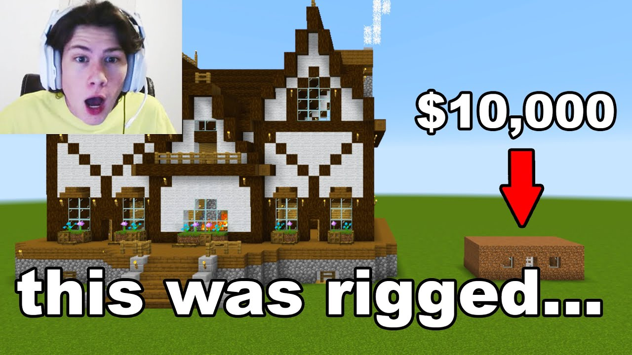 Fooling My Friend By Rigging A $10,000 Building Competition...