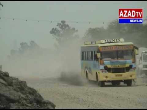 barnala sangur  road create problems  to people...