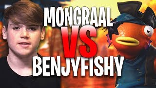 Secret Mongraal 1 VS 1 Benjyfishy - France Fortnite Creative 1v1 'GODS BUILD FIGHT'