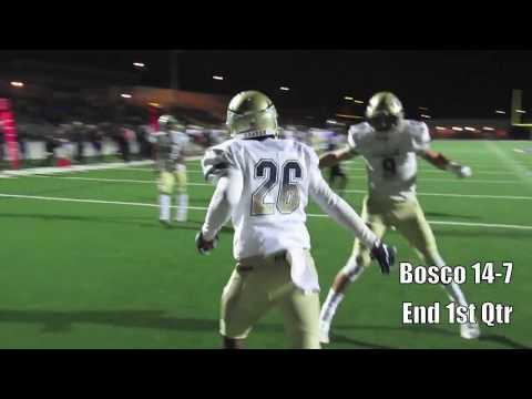 CIF Football: St. John Bosco vs. Rancho Cucamonga