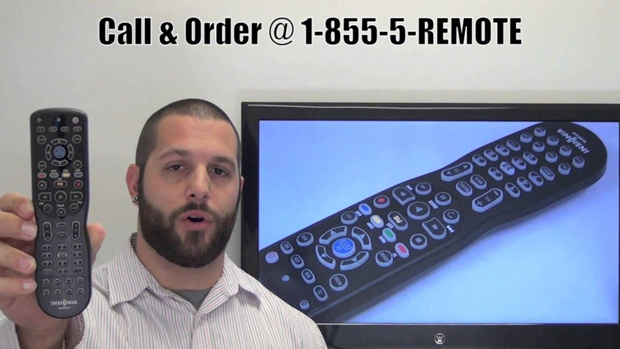 INSIGNIA NSRC01G09 Remote Control PN: 098GRABDGNEBYU -  www ReplacementRemotes com