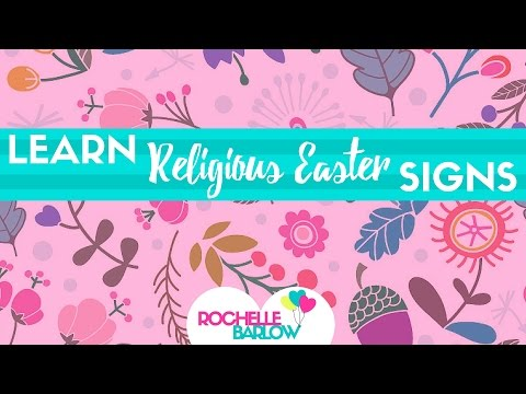 Learn ASL: Religious Easter Signs