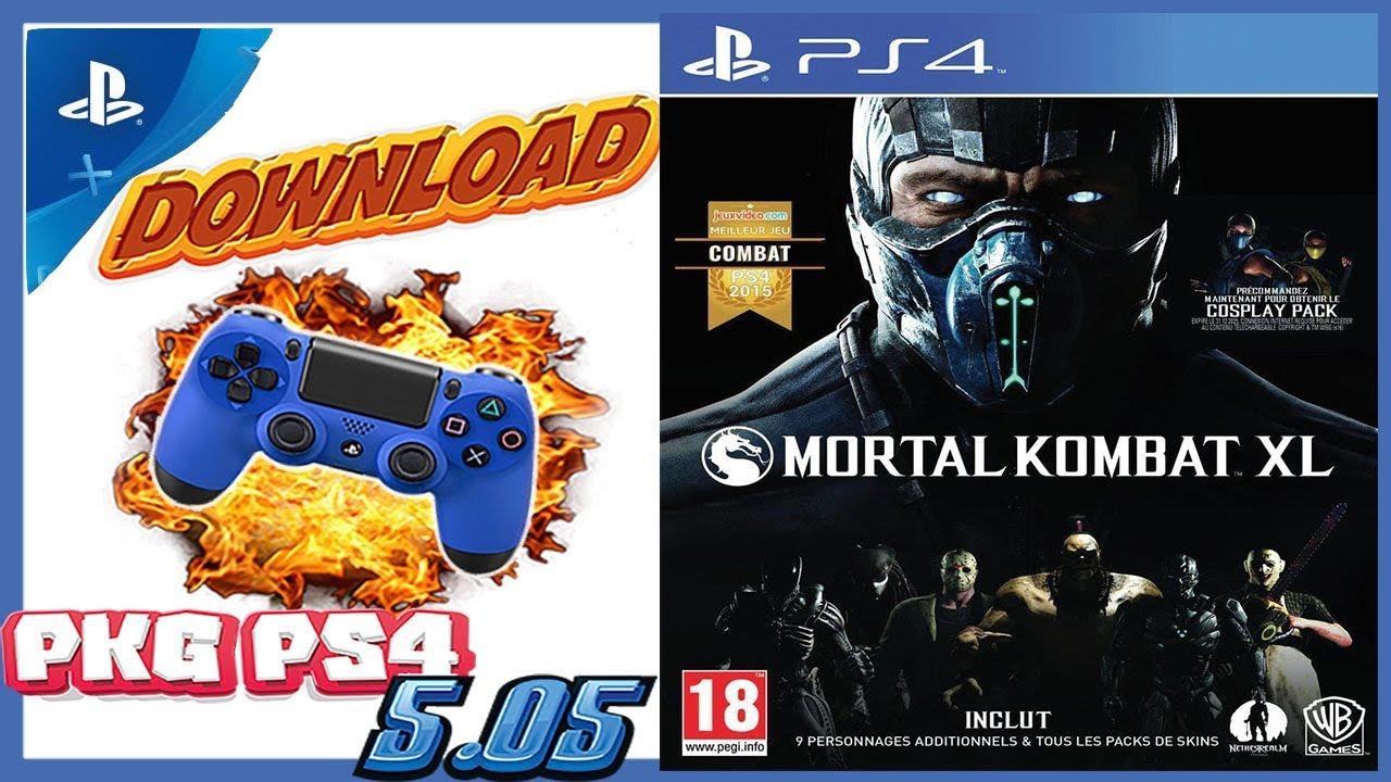 jeux ps4 pkg 5.05