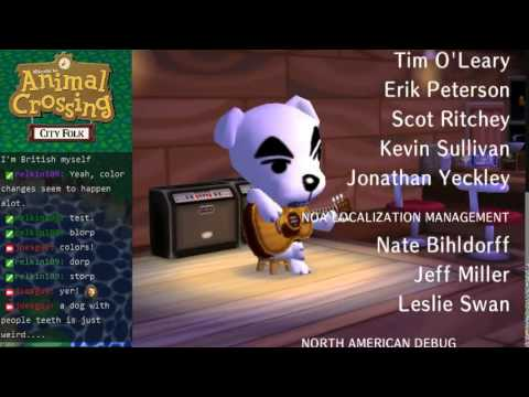Animal Crossing City Folk - K. K. Cruisin'