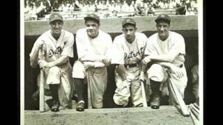 1934 Yankees vs Tigers at Navin Field - full radio broadcast