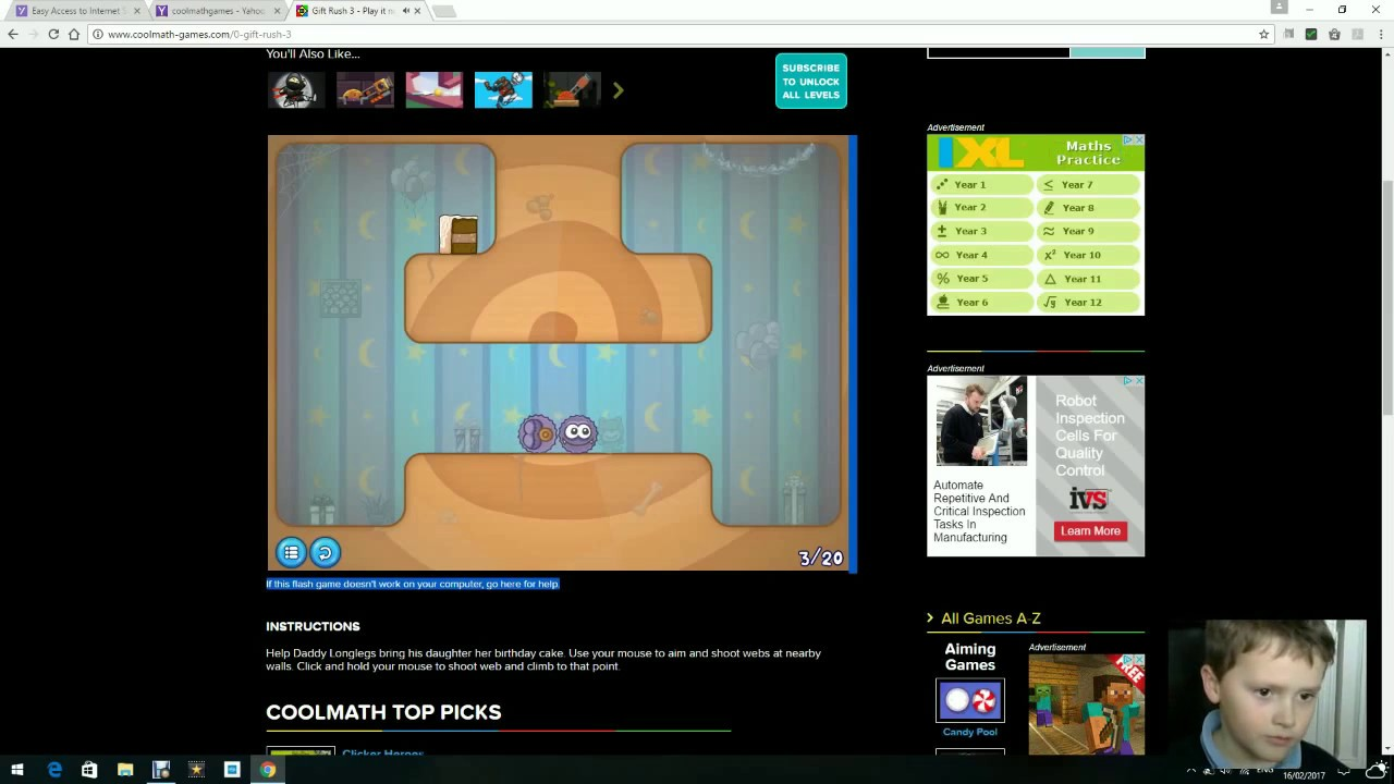 Cool Math Games - Slime Laboratory - YouTube