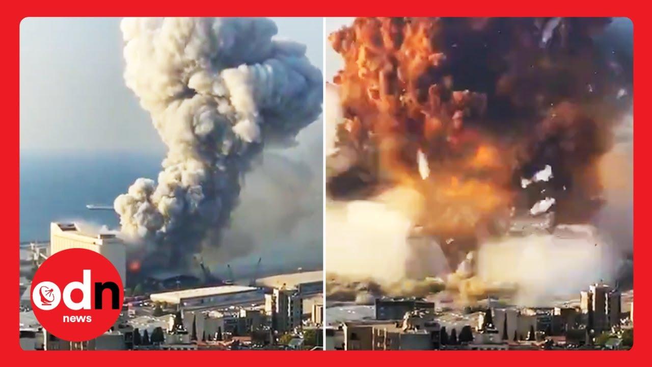 Huge Blast Rocks Lebanon's Capital Beirut